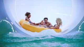 Tropical Cyclone Raft Ride, available at Elveden Forest, Woburn Forest and Longleat Forest