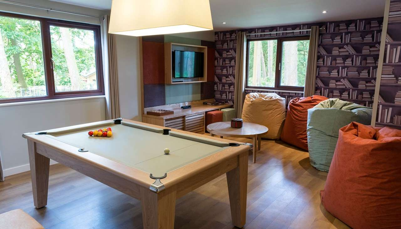 Exclusive games room