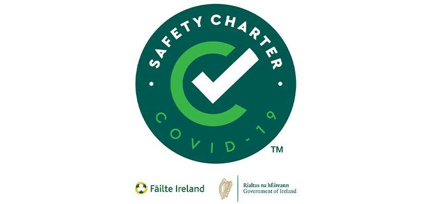 Covid safety charter badge