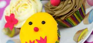 easter cupcake decorating