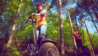 Segway Experience in the forest