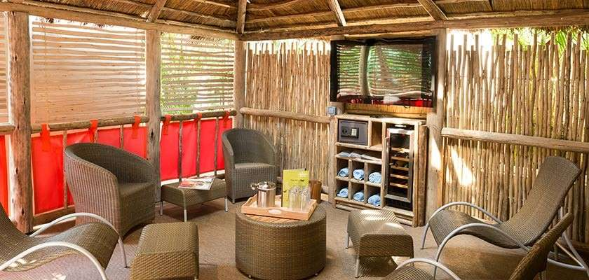 Cabana at the Subtropical Swimming Paradise