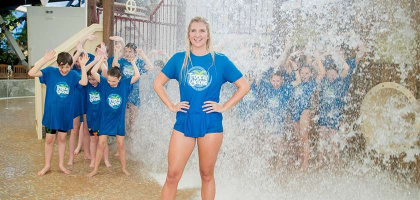 Tropical Cyclone opening with Rebecca Adlington