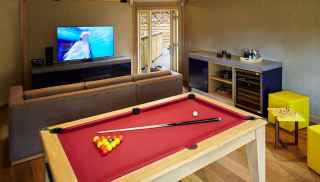 Treehouse Games room