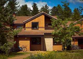 Two-storey Executive Lodge in the forest